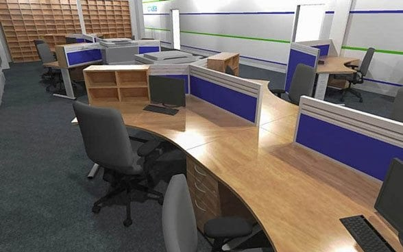 We will conduct site surveys to ensure that the workspace works for you, taking into account all the necessary considerations.